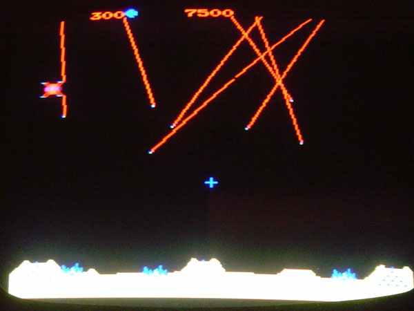 Atari Missile Command Arcade Video Game of 1980 at www ...