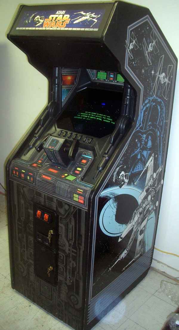 Atari Star Wars Vector Arcade Video Game