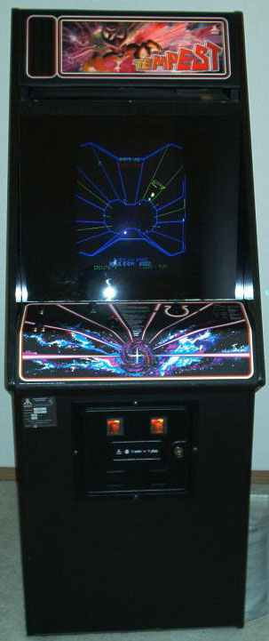 Atari Tempest Vector Arcade Video Game At Www Pinballrebel Com