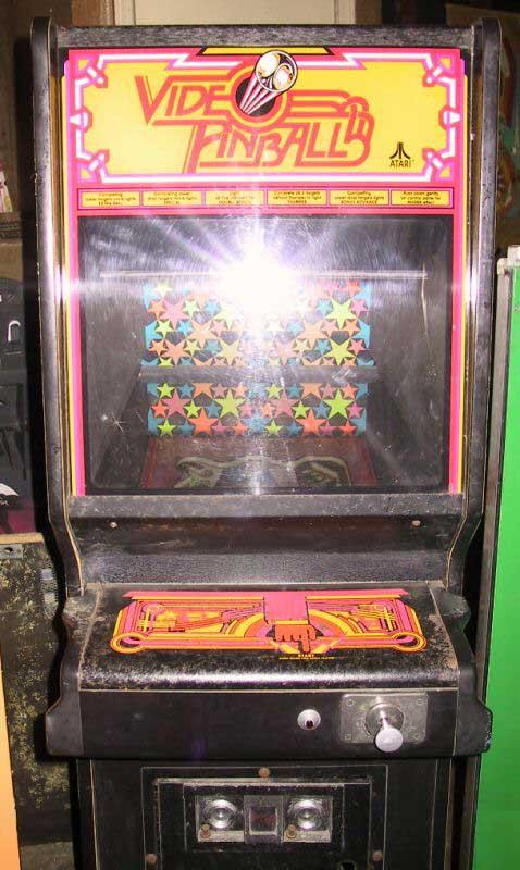 atari video pinball arcade video game of 1978 at