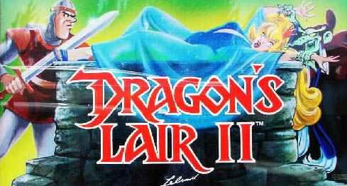 Dragons Lair 2 Dragon 39 s Lair 2 Video Arcade