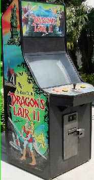 Dragons Lair Video Arcade Game Of 1983 By Cinematronics At