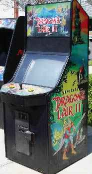 Dragons Lair Video Arcade Game of 1983 by Cinematronics at www ...