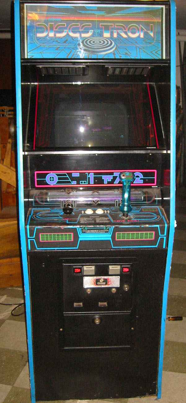 Discs Of Tron Arcade Game Of 1983 By Midway At Www