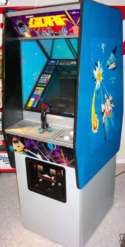 Gorf Video Arcade Game of 1981 by Midway & Namco at www ...