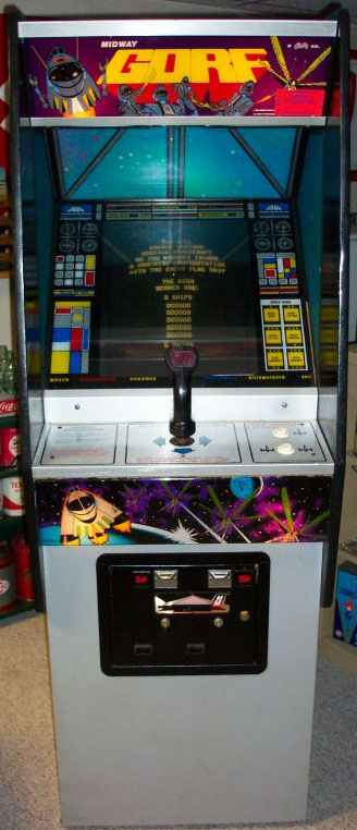 Gorf Video Arcade Game Of 1981 By Midway Amp Namco At Www