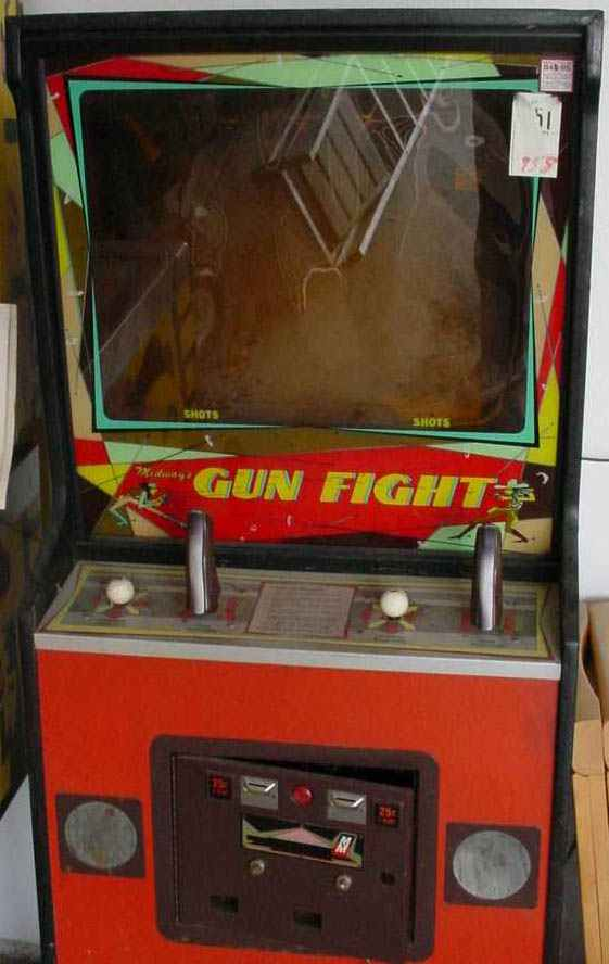 Gunfight Video Arcade Game Of 1975 By Midway At Www