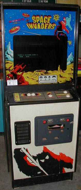 space invaders video arcade game of 1978 by midway at