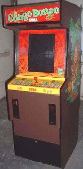 Congo Bongo Arcade Video Game Of 1983 By Sega At Www