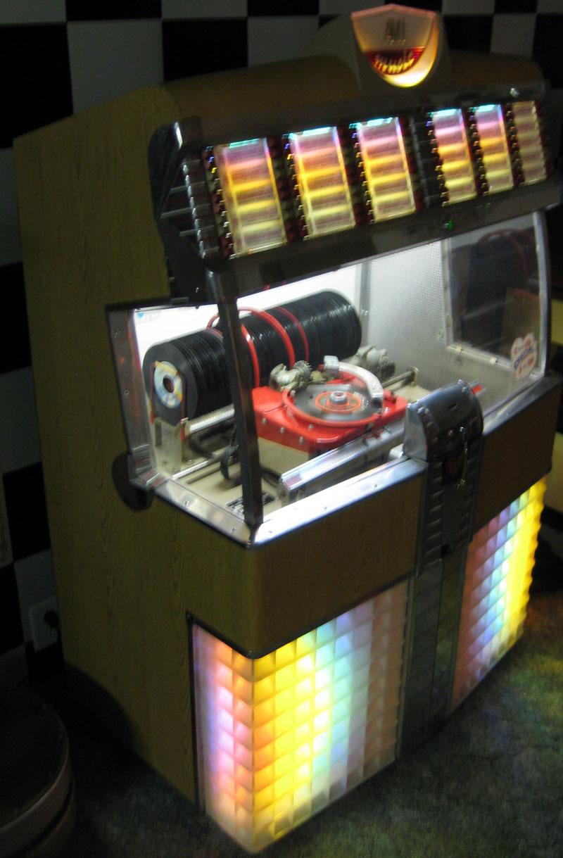 ami rowe model e 80  u0026 120 jukebox of 1953 at