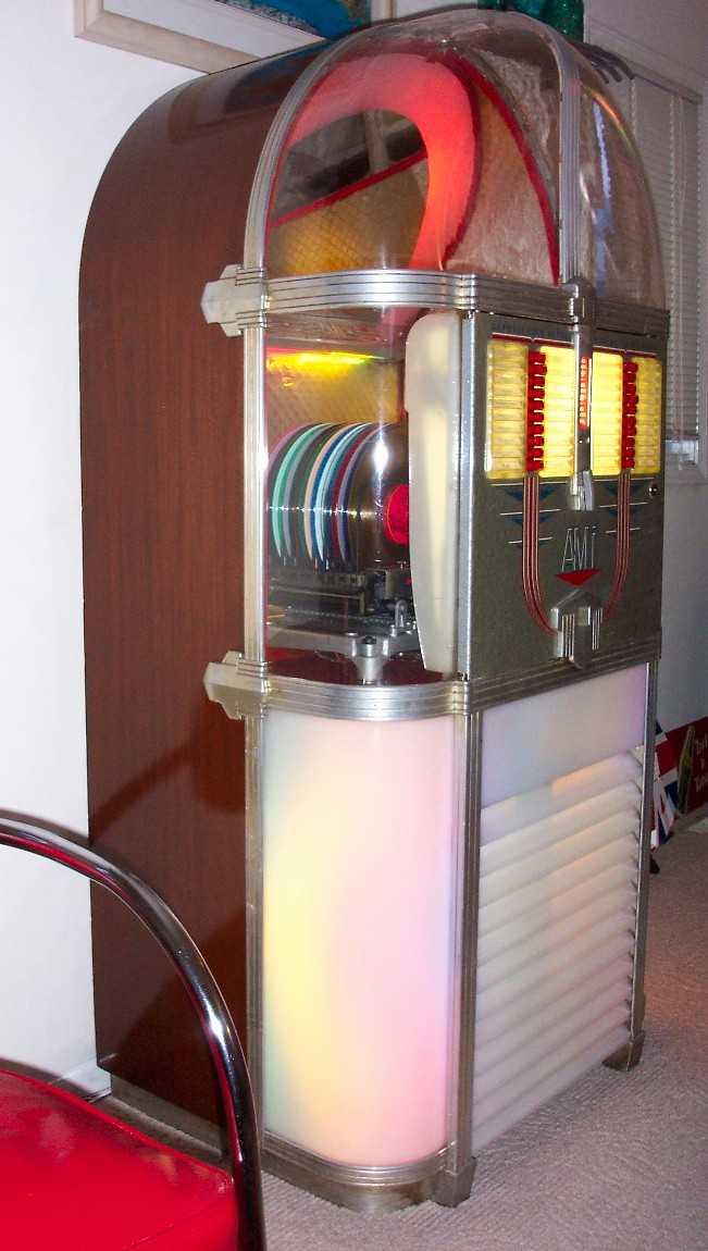ami rowe model c jukebox of 1950 at  pinballrebel com