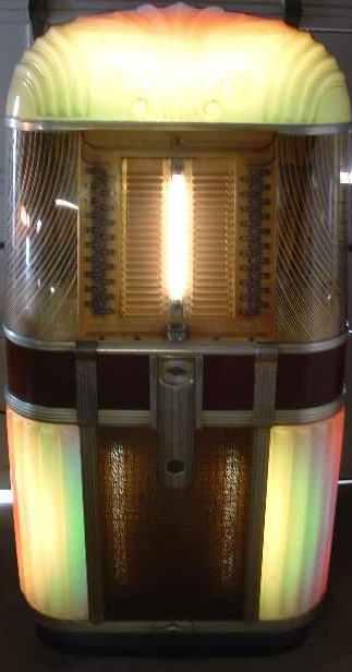 ami rowe model b jukebox of 1948