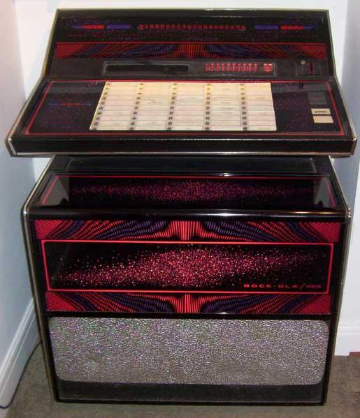 Rockola Jukebox Values Rockola 459 Jukebox of 1975 at