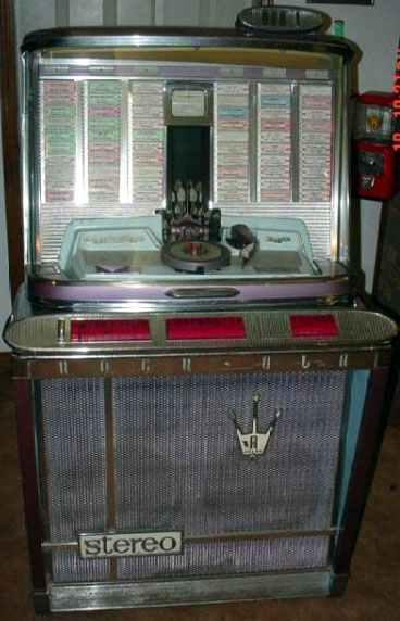 rockola empress jukebox model 1496  u0026 1497 of 1962 at