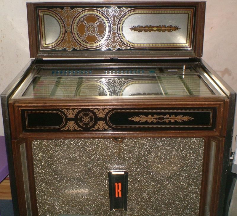 Rock-Ola model 471 Princess Jukebox of 1978 at www.pinballrebel.com