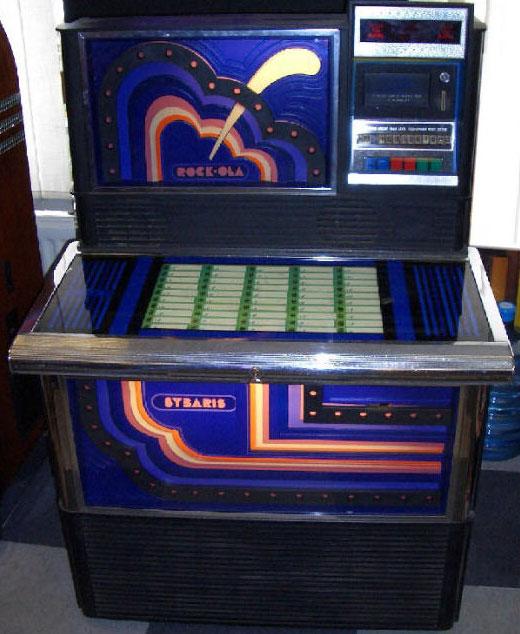 Rockola Jukebox Pictures Rockola 473 Sybaris Jukebox of