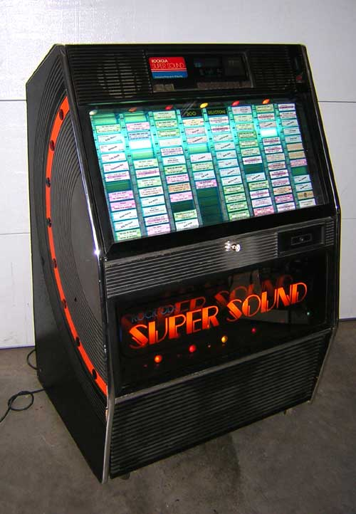RockOla Model 490 Super Sound Jukebox of 1984  1986 at