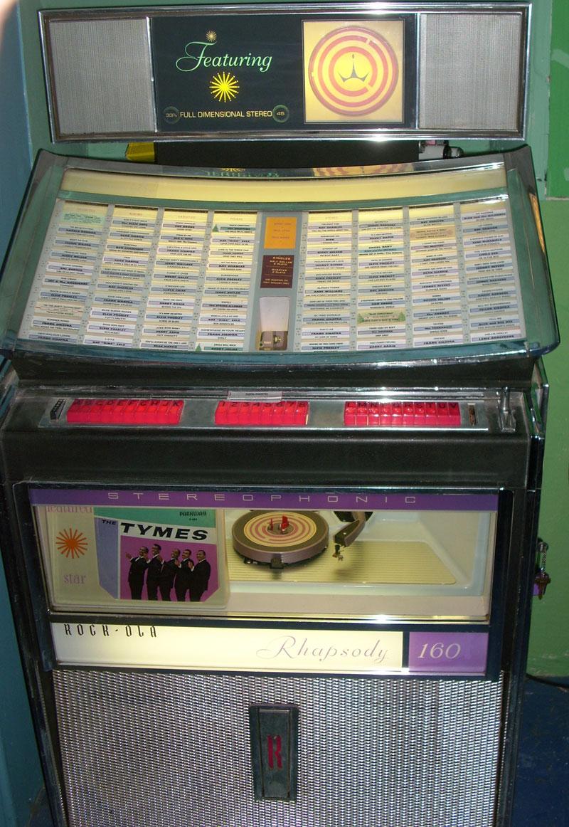 Rockola Jukebox Values Rockola 408 Rhapsody Jukebox