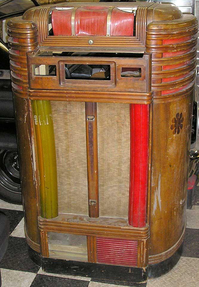Seeburg Jukebox Pictures Seeburg Crown Jukebox of 1938