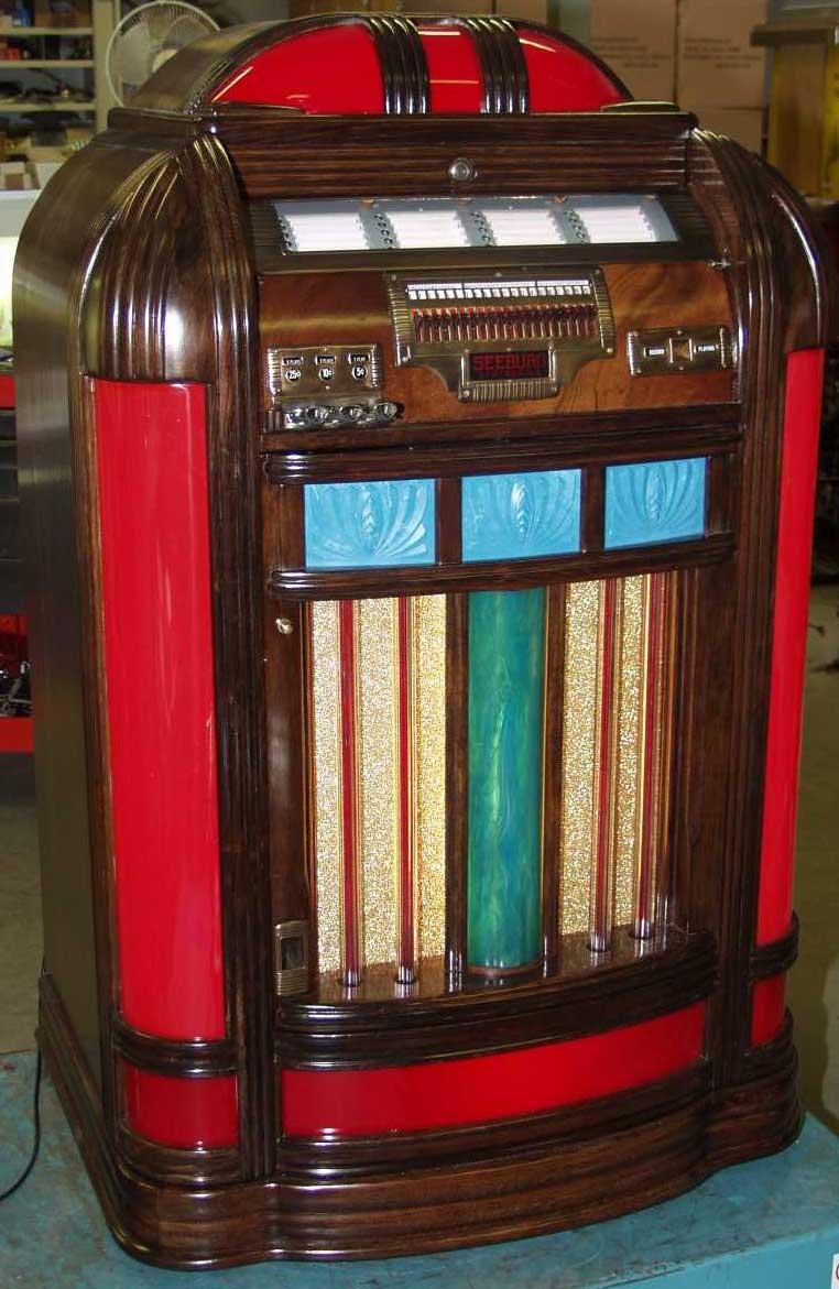 Seeburg Jukebox Pictures Seeburg Envoy Jukebox of 1940