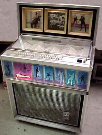 seeburg s 100 jet jukebox of 1968 at. Black Bedroom Furniture Sets. Home Design Ideas