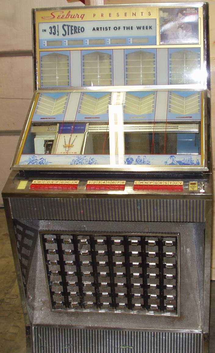 seeburg model aq 100  u0026 160 of jukebox of 1960 at