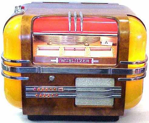 5 Wurlitzer Model 41 Tabletop Jukebox With Stand : Lot 1867