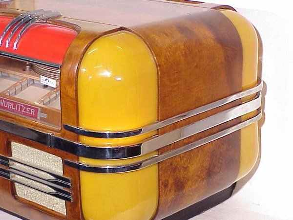 Wurlitzer Model 41 Table Top Counter Top Jukebox of 1941 at www ...