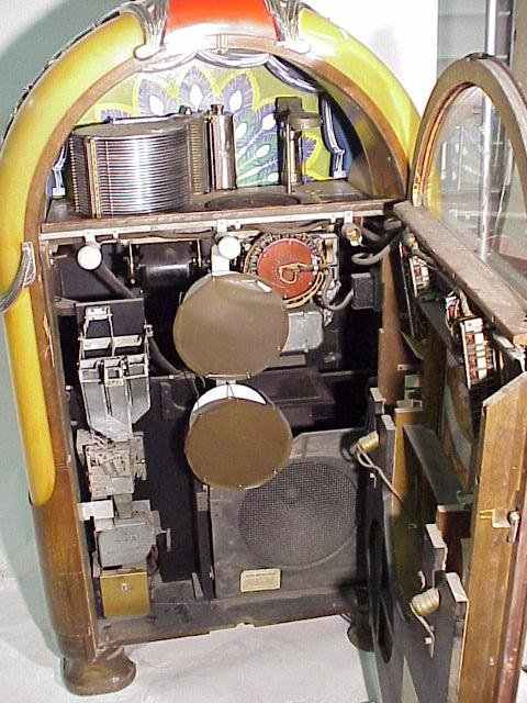 wurlitzer model 850 jukebox  u0026quot peacock u0026quot  of 1941 at