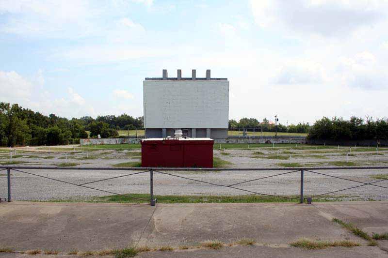 Admiral Twin Drive In Movie Theater Tulsa Oklahoma At Www