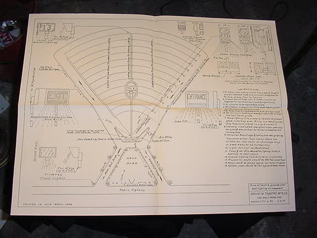 drive in theater manufacturing company movie theater plans