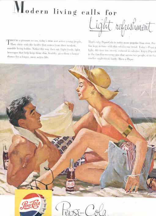 classic pepsi cola advertising from the 1940 u0026 39 s 1950 u0026 39 s 1960