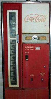1960s coke machine
