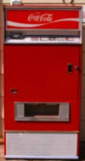 Classic Coca Cola Vendo 125 Soda Coke Vending Machine Of The 1960s