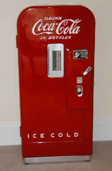 vendo 39 coke machine parts
