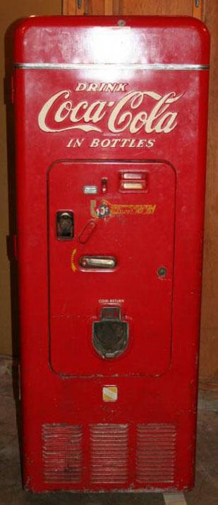 1950/1960's Coca Cola Vending Machine, WC-44-SK (10/31/2007)