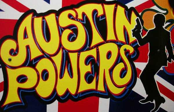 Austin Powers Pinball By Stern of 2001 at www.pinballrebel.com