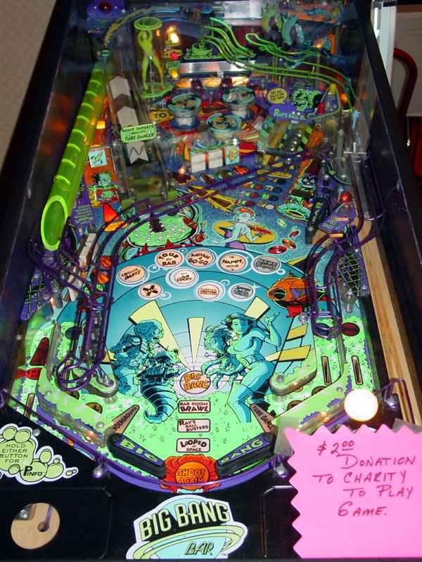 Capcom Big Bang Bar Pinball Of 1996 At Www Pinballrebel Com