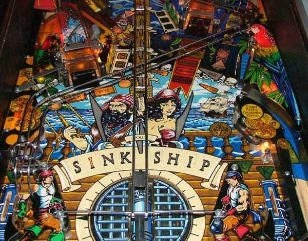 Black Rose Pinball By Bally Of 1992 At Www Pinballrebel Com
