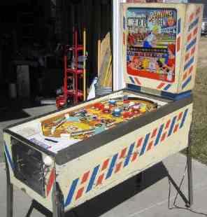 bowling pinball machine