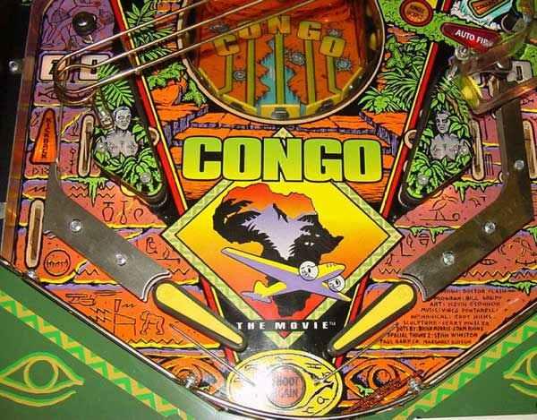 Congo Pinball Hole Protector Set #2 Congo Pinball Protector