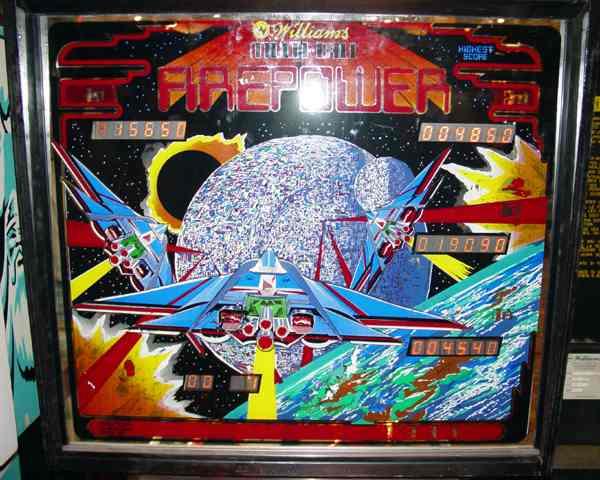 Williams Firepower Pinball Machine Plastic Set 30C-497 Free Shipping New!