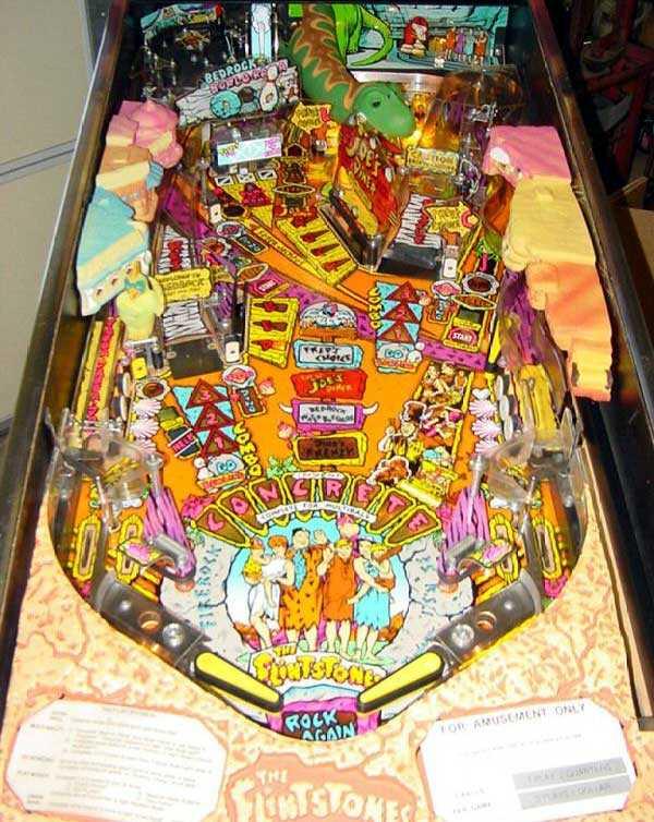 The Flintstones Pinball Machine Bowling Pin /& Decal Set 01-12369 Free Ship New!