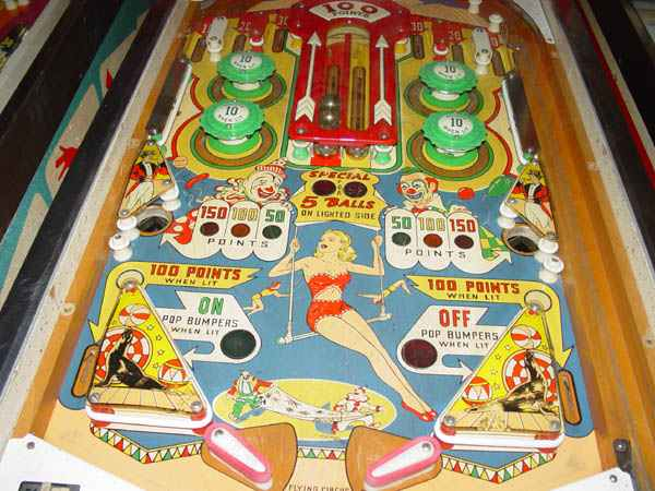 Flying Circus Pinball By D Gottlieb Amp Company Of 1961 At
