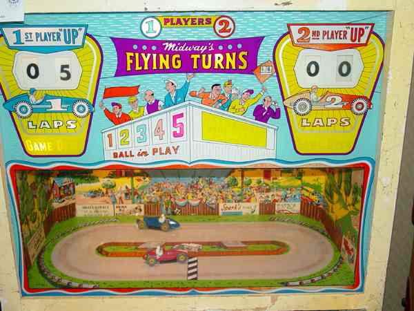 Midway Flying Turns Pinball Of 1964 At Www Pinballrebel Com