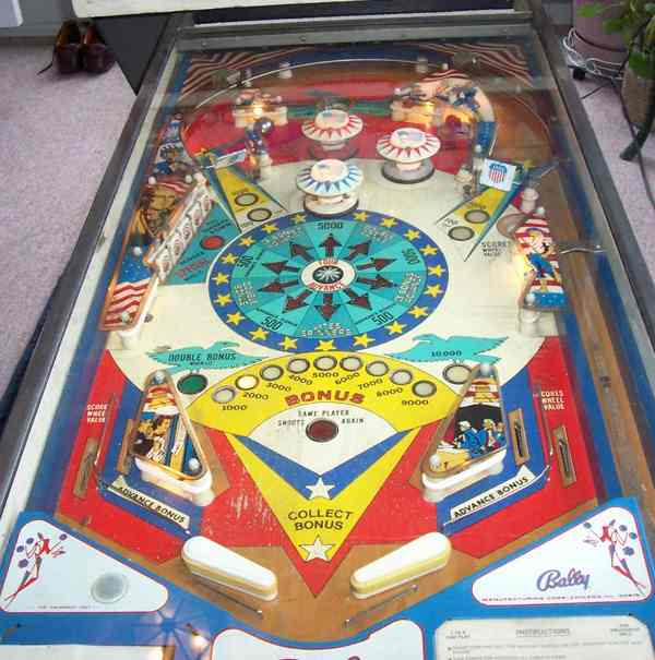 super cheap quality design most popular Freedom Pinball By Bally of 1976 at www.pinballrebel.com