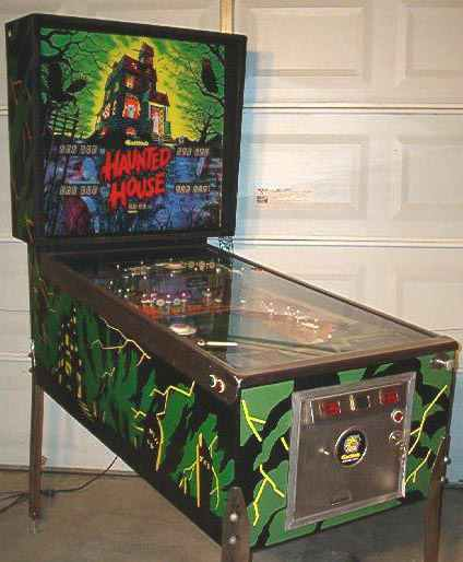 haunted house pinball machine for sale