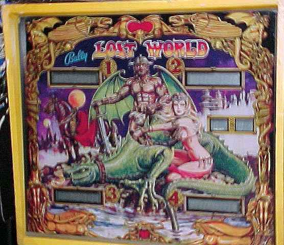 bally lost world pinball machine for sale