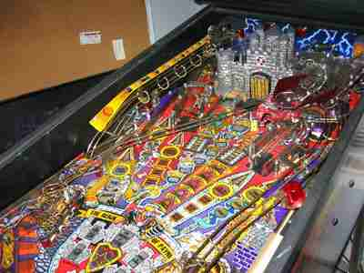 Mr Pinball Medieval Madness Pinball Castle Spring Pivot Lower left 10-521