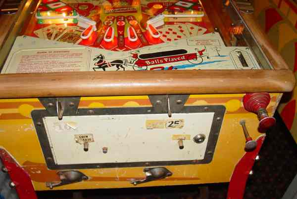 d gottlieb co queen of diamonds pinball of 1959 at www Honda Wiring Diagrams Online